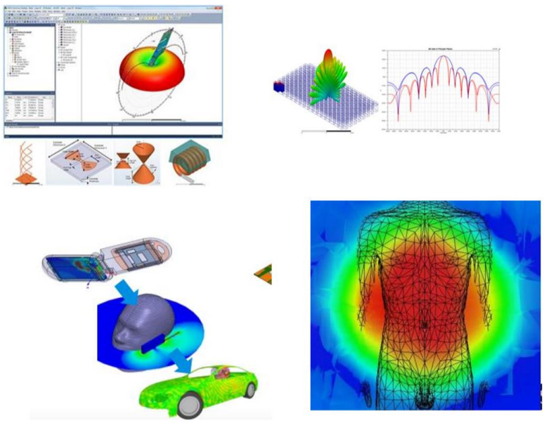 Electromagnetic simulation models